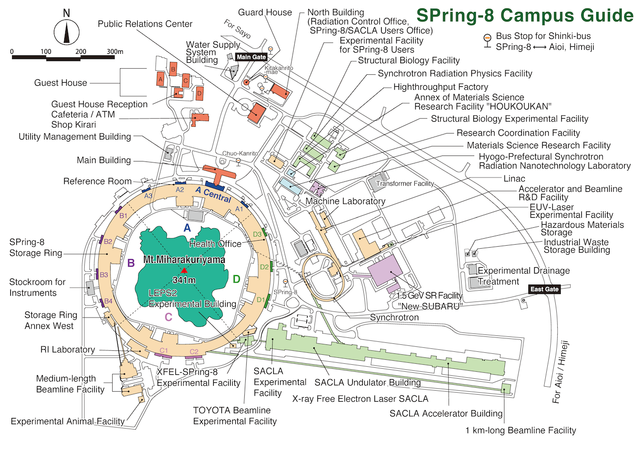 SPrig-8 Campus Map