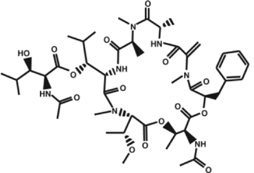 Fig. 3 Chemical structure of YM-254890
