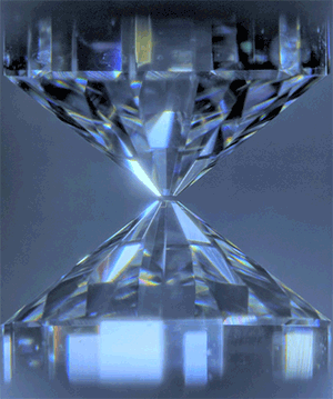 Fig. 2 Diamond anvil cell for generating very high pressures