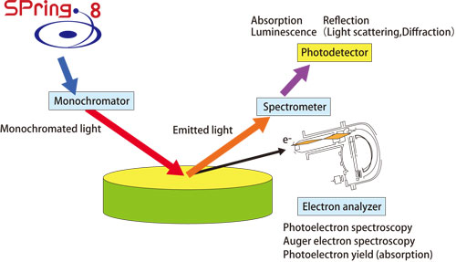 Fig. 2. Schematic diagram of spectroscopy.